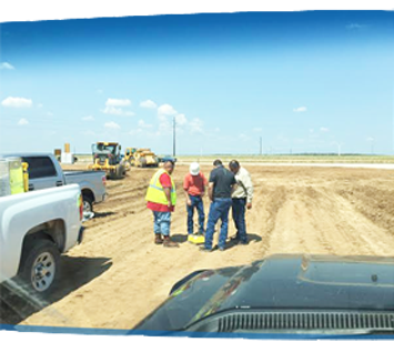 Sitework and excavation in San Antonio and Laredo Texas